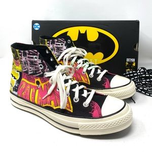 Converse & DC Batman Chuck 70 High Canvas Black M